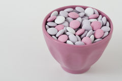 Pastel colored candy Stock Photo