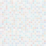 Pastel Colored Ceramic Tile Wall Bathroom Or Kitchen Background Stock Images
