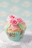 Pastel colored cupcake Royalty Free Stock Photography