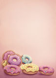 Pastel colored donuts. Illustration of pastel colored donuts Stock Illustration