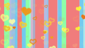 Pastel colored lines Royalty Free Stock Photography