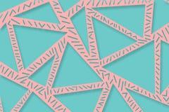 Pastel colored modern minimalistic memphis pattern illustration vector illustration