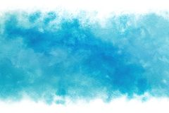 Pastel colored blue sky abstract on vintage watercolor paint background. Pastel colored summer blue sky abstract on vintage watercolor paint background vector illustration