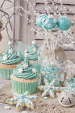 Pastel colored sweets Stock Images