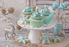 Pastel colored sweets Royalty Free Stock Photography