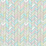 Pastel colored textured chevron ornament geometric abstract seamless pattern, vector vector illustration