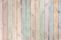 Free Pastel Colored Wood Planks Texture Or Background Stock Images - 92022404