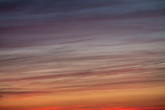 Pastel colorful sky background at sunset Royalty Free Stock Image