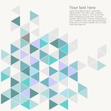 Pastel colorful vector background with empty space. Royalty Free Stock Image