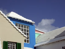 Pastel Colors. Of buildings in St. Georges, Bermuda royalty free stock photography