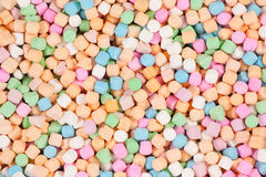 Pastel Colors. Mexican candies in pastel colors. Top View. Great Background royalty free stock image