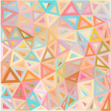 Pastel colors abstract triangles vector background Royalty Free Stock Image