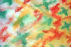 Pastel colors and shapes, abstract background. Pastel colors and diamond like shapes in green, gray, green, blue and pink hues. Abstract colorful background royalty free illustration