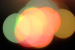 Pastel colour lights Royalty Free Stock Photos