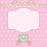 Pastel colour retro polka dot background Stock Photos