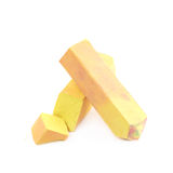 Pastel crayon chalk isolated Royalty Free Stock Photos