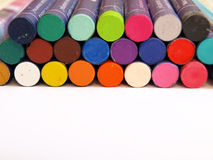 Pastel crayons Royalty Free Stock Photos
