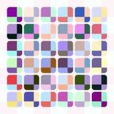 Pastel cube pattern Stock Image