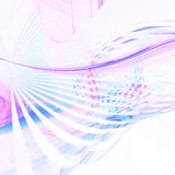 Pastel curves. Soft pastel curves background on white Stock Photography