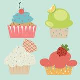 Pastel cute cupcake Royalty Free Stock Image