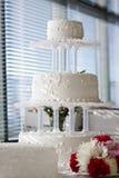 Pastel de bodas Fotos de archivo libres de regalías