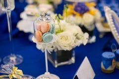 Pastel de bodas Imágenes de archivo libres de regalías