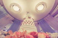 Pastel de bodas Foto de archivo