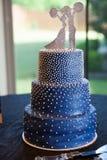 pastel de bodas atl?tico foto de archivo libre de regalías