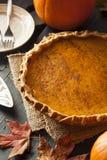 Pastel de calabaza hecho en casa para Thanksigiving Foto de archivo