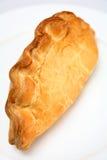 Pastel de Cornualles en una placa foto de archivo