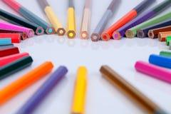 Pastel de crayon Photo libre de droits
