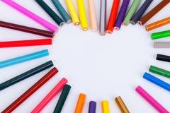 Pastel de crayon Images stock
