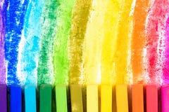 Pastel de la tiza Imagen de archivo libre de regalías