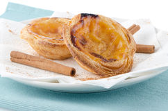 Pastel de nata Royalty Free Stock Photo