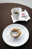 Pastel de nata famous portuguese sweet egg custard pastry tart Royalty Free Stock Photos