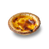 Pastel de nata, traditional Portuguese egg tart pastry Royalty Free Stock Images