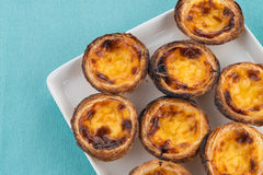Pastel de nata Stock Photos