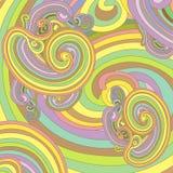 Pastel de papier peint illustration stock