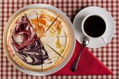 Pastel de queso Imagenes de archivo