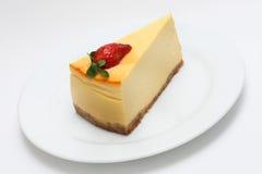 Pastel de queso Fotografía de archivo libre de regalías