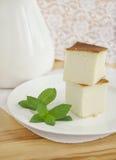 Pastel de queso Imágenes de archivo libres de regalías