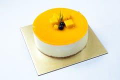 Pastel de queso Fotografía de archivo