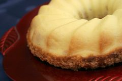 Pastel de queso Foto de archivo