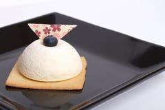 Pastel de queso blanco fotos de archivo libres de regalías