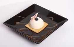 Pastel de queso blanco fotografía de archivo