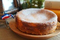 Pastel de queso cocido Foto de archivo libre de regalías