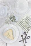 Pastel de queso de Nueva York Foto de archivo