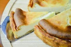Pastel de queso de Nueva York Fotos de archivo