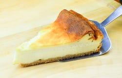 Pastel de queso de Nueva York Fotografía de archivo libre de regalías