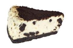 Pastel de queso de Oreo Fotografía de archivo libre de regalías